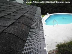 Woodstock's Best Gutter Cleaners only installs quality no-clog covers.
