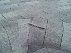 Woodstock's Best Gutter Cleaners' Certainteed Certified roofers can replace cracked ridgecaps.