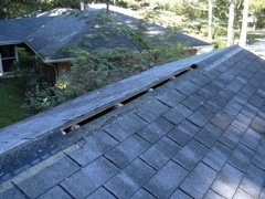 Woodstock's Best Gutter Cleaners' Certainteed Certified roofers can install or replace your ridge vents.